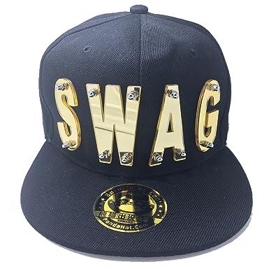 Amazon.com  SWAG HAT IN BLACK  Clothing 42e6c2b6f0e