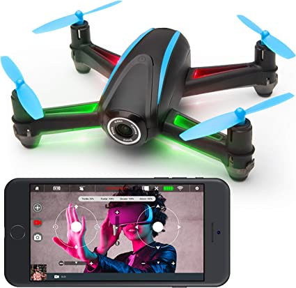Force3 Mini Drone with Camera - U3W Dragonfly FPV Drones for Beginners, Indoor Drone, and Small Drone with Camera WiFi Flying & VR Capability
