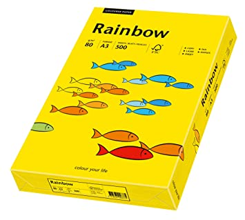 A4 250 Blatt hellrosa Papyrus 88042524 Multifunktionspapier Rainbow 120 g//m²