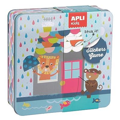 APLI Kids - Caja metálica con juego de gomets Casa: Juguetes y juegos