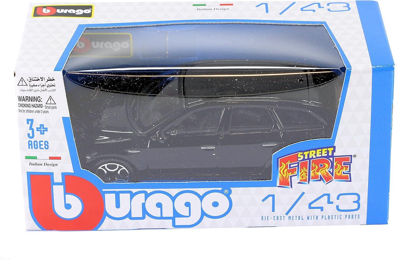 Burago 1//43 Diecast Model Car Alfa Romeo 159 estate in Black /'Street Fire/'