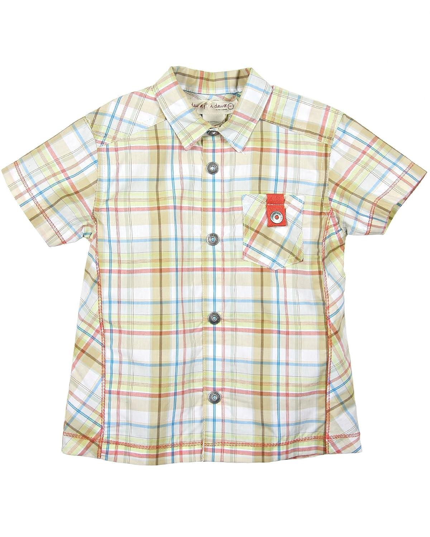 sizes 6M 12M Deux par Deux Boys Plaid Shirt Tank Up