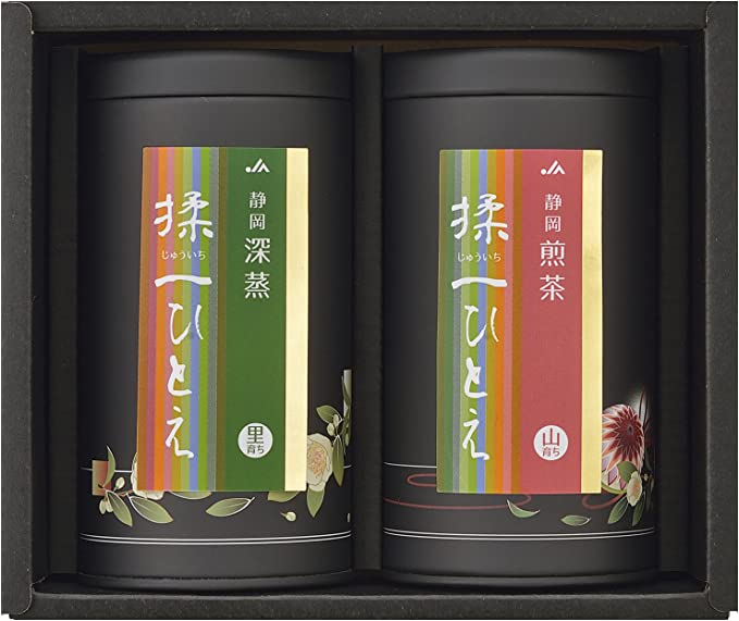 JA静岡経済連 静岡揉一ひとえ山里セット(揉一ひとえ山育ち88g缶・揉一ひとえ里育ち88g缶)