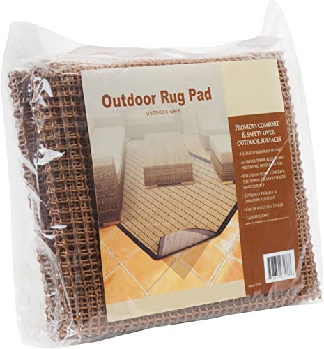 Outdoor Grip Non Skid Area Rugs Pad 9-Feet by 12-Feet Rug