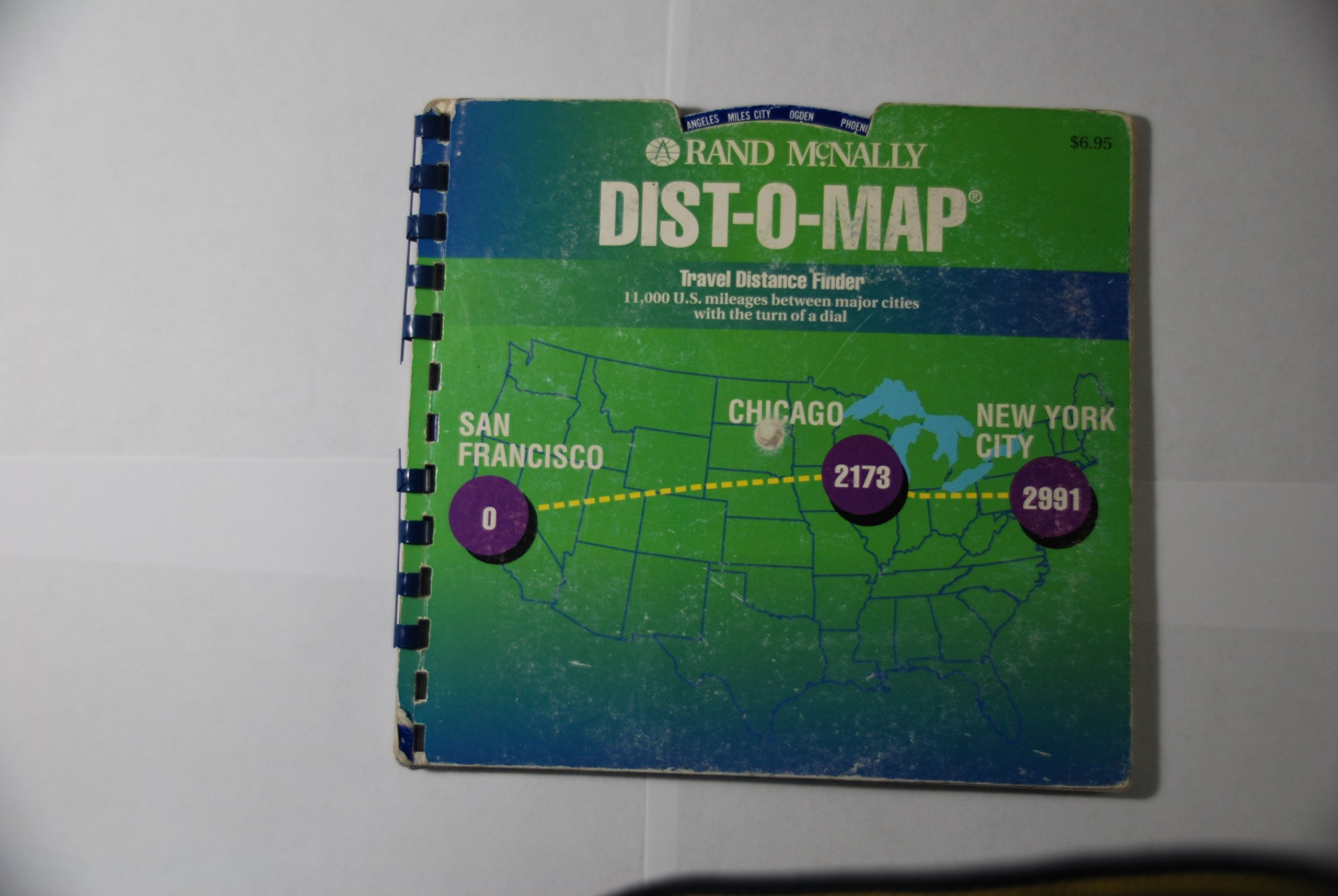 Dist-O-Map: The Automatic Mileage Dialer : 11, 000 U.S. ...