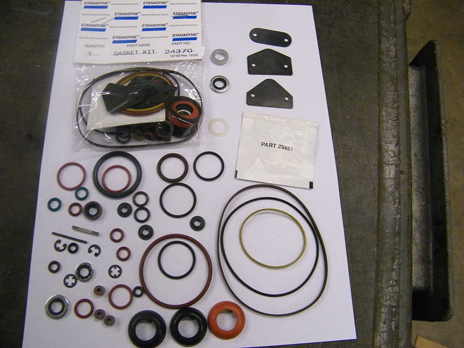 Stanadyne Diesel Injection Pump seal kit 24370 for DB2 automotive ...