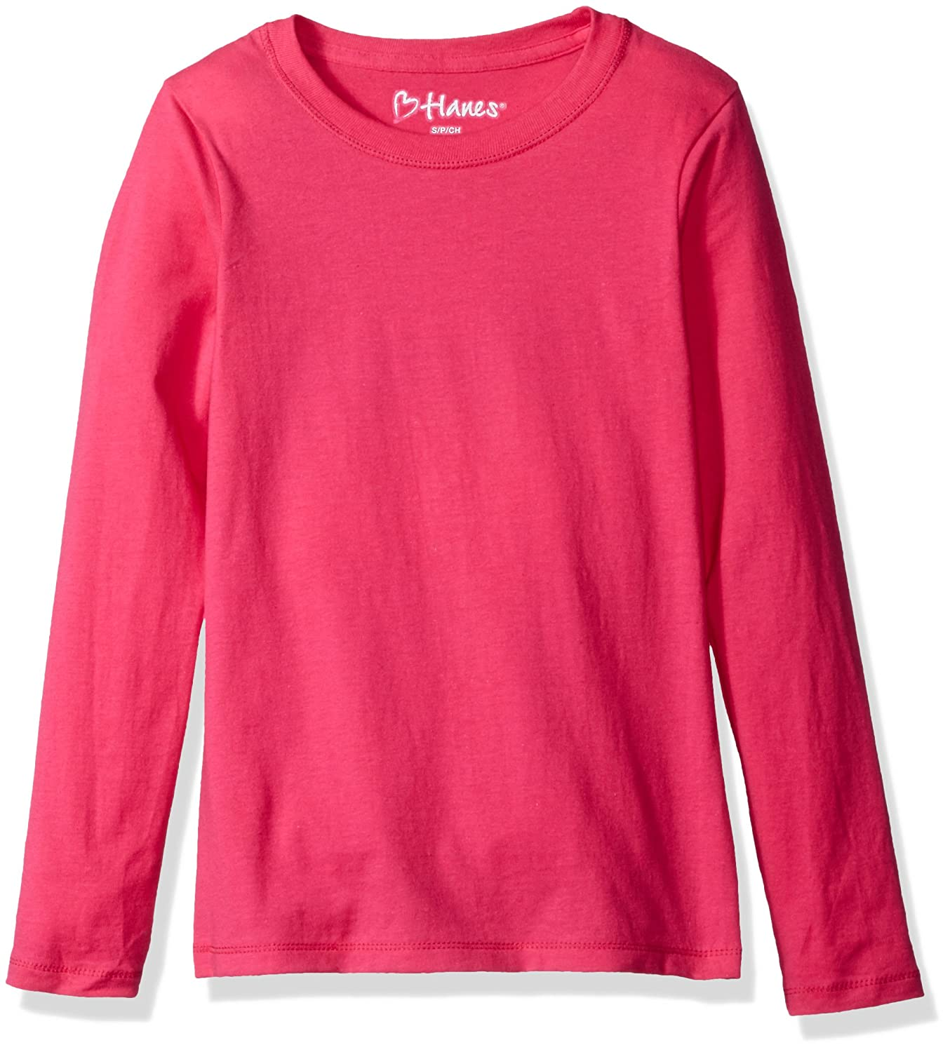Hanes girls Big Girls Comfortsoft Long Sleeve Tee Hanes Women' s Activewear OK123