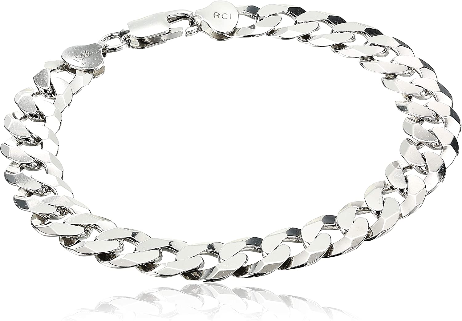 Lobster Silver Chain 3.7MM Silver Light Curb 100