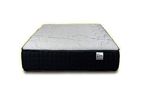 Colchon ZZU Visco Soft Platinum (135 x 180 cm) Altura 30 cm. Firmeza