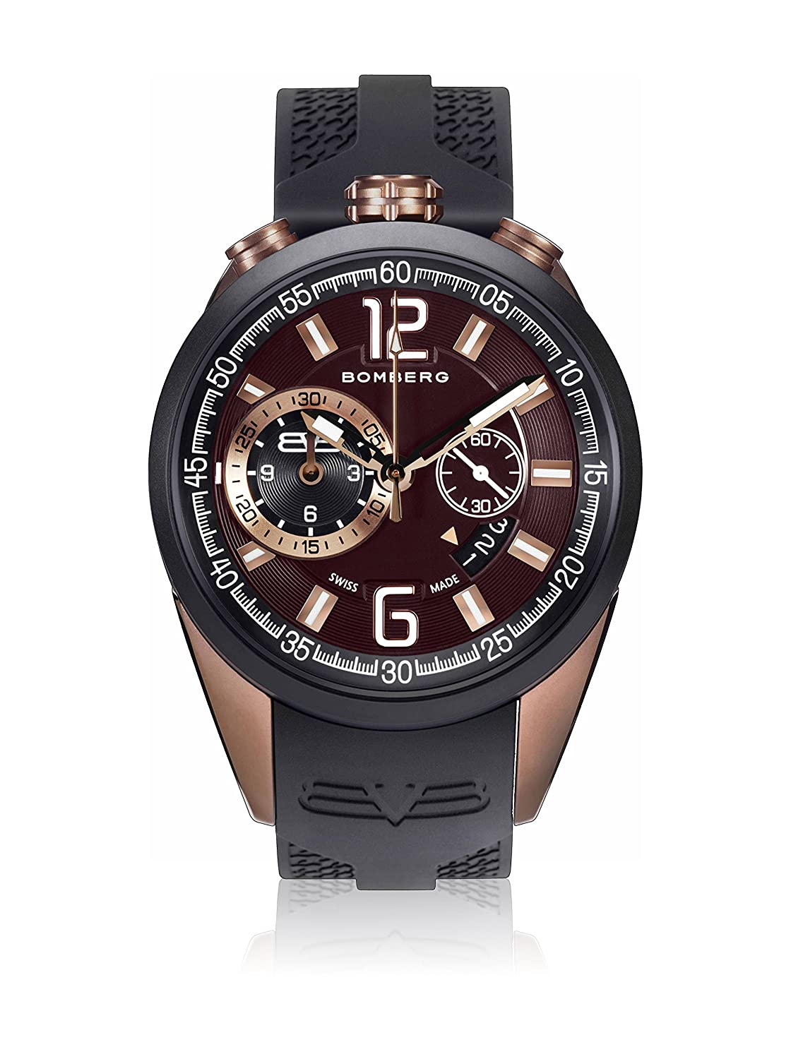 Bomberg NS44CHTT.0088.2 1968 collection Uhren - Swiss Made - 44 mm