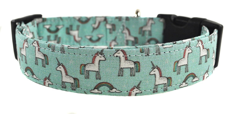 Novelty Dog Collar - The Unicorns in Mint