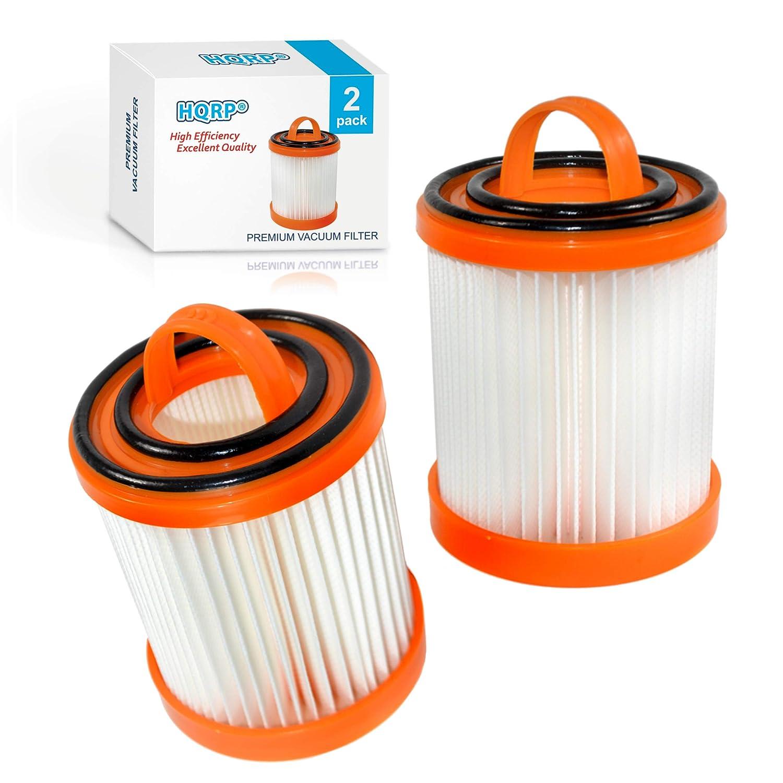 HQRP 2-Pack Dust Cup Filter for Eureka 5700, 5740A, 5810A, 5811A, 5812A, 5813AV, 5815AV, 5856, 5857, 5859ASZ, 5860AVH, 5860AVZ, 5860BVZ Litespeed Whirlwind Bagless Vacuum Cleaners Coaster