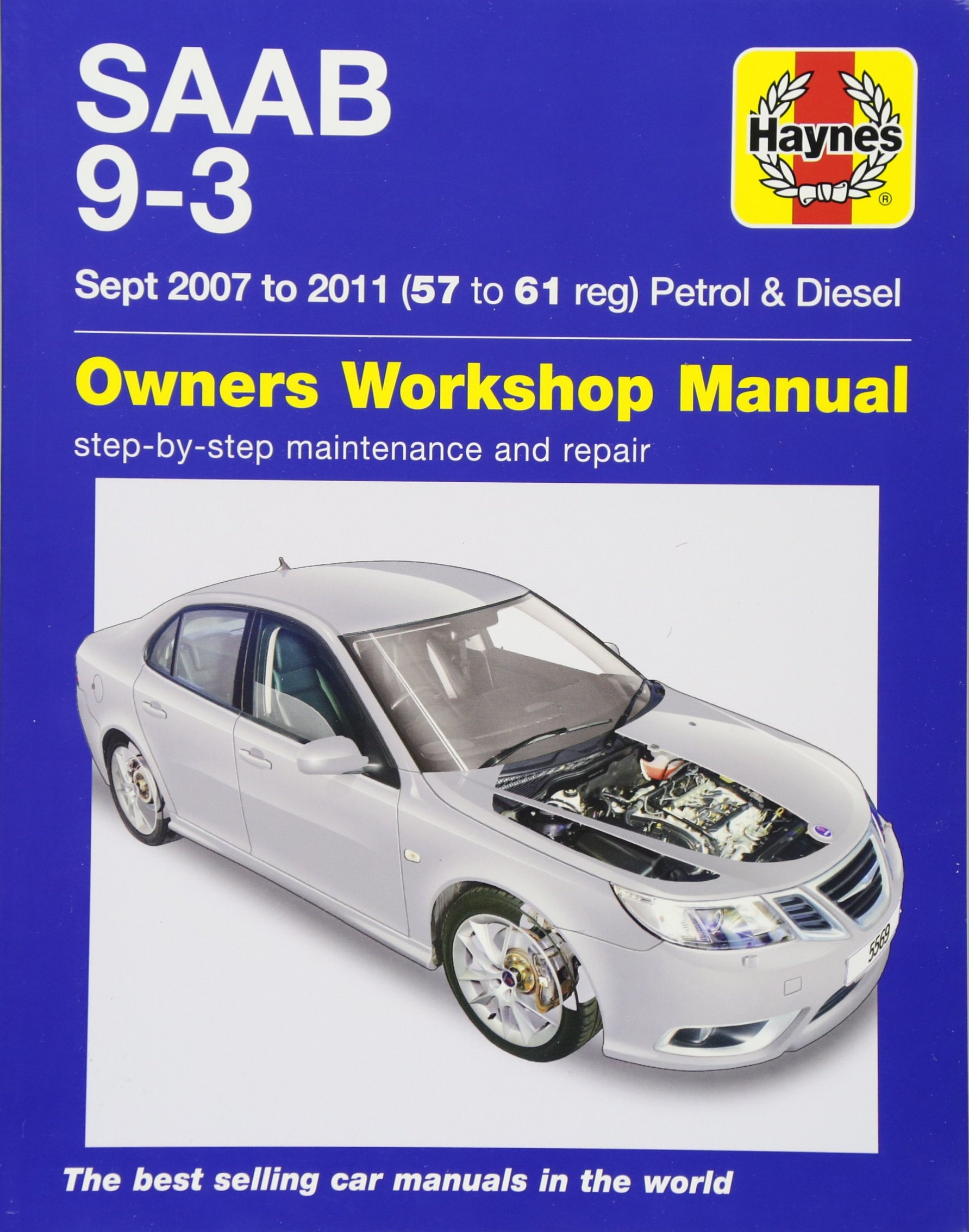 Saab 9-3 Petrol And Diesel Owners Workshop Manual: 2007-2011: Haynes  Publishing: 9781785213724: Amazon.com: Books