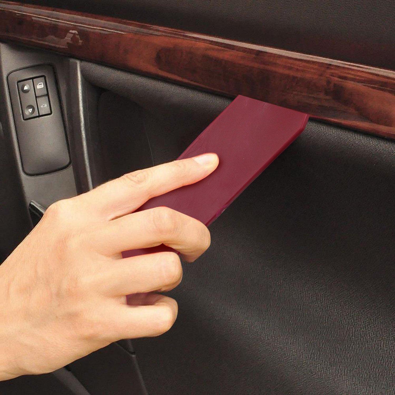 WisFox 425 Pz Plastica Rivetti,Universal Auto Nero Clip Nylon Rivetto Plastica