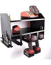 Cordless Drill Power Tool Shelving Storage Organiser Tidy Shelf - Shed Garage Workshop