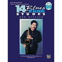 Image for 14 Blues & Funk Etudes: B-flat Instrument (Tenor Sax, Soprano Sax, Clarinet), Book & 2 CDs