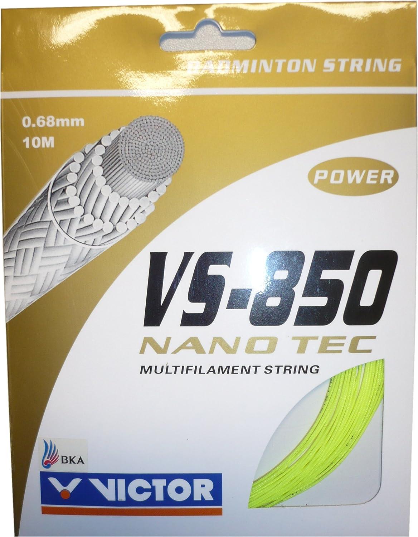 Victor vs-850 NanoTecバドミントンストリング   B003EYUL44