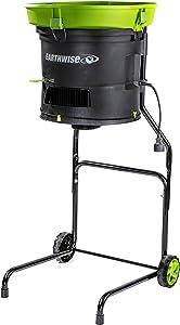 Earthwise LM71313 Amp 13-Inch Corded Electric Leaf Mulcher/Shredder, Green