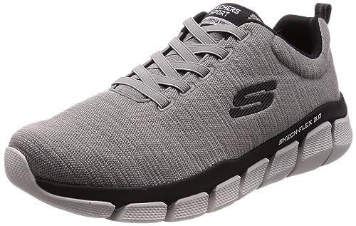 fd05b9dfd1c6b Skechers Men's Trainers Grey Grey: Amazon.co.uk: Shoes & Bags
