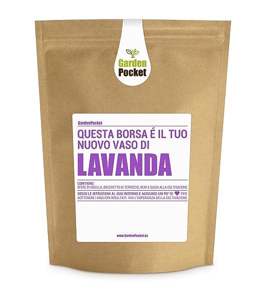 Garden Pocket - Kit de Cultivo Lavanda - Bolsa Maceta: Amazon.es ...