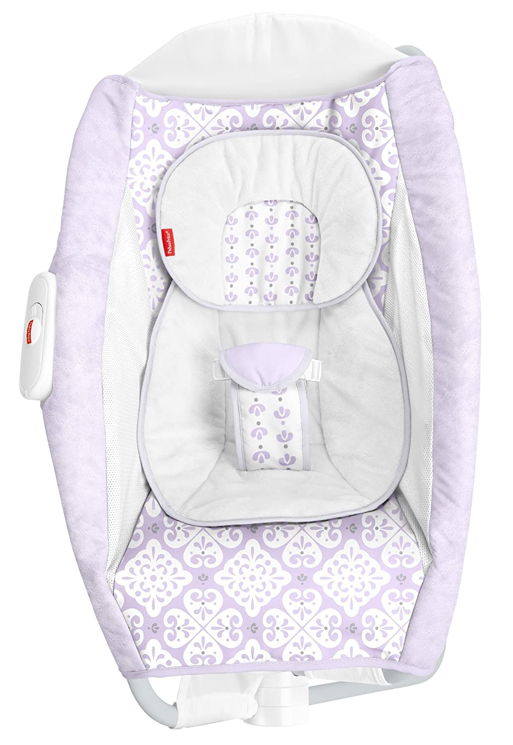 Amazon Com Fisher Price Deluxe Rock N Play Sleeper Purple White