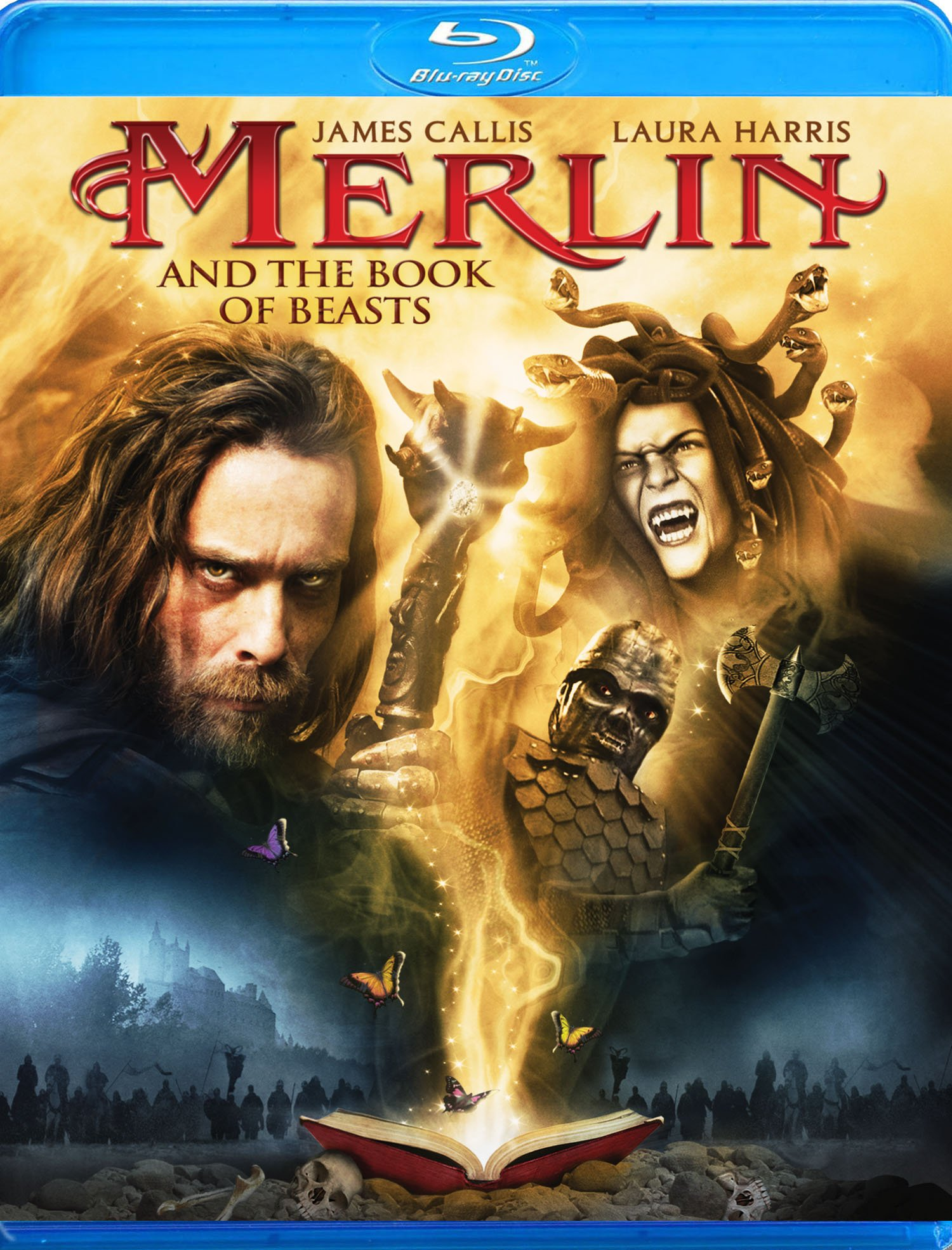 Blu-ray : Merlin and the Book of Beasts (Blu-ray)