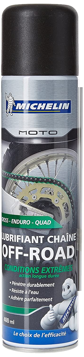 Michelin 008806 Moto Lubrifiant Chaî ne Off-Road, 400 ml IMPEX SAS 008806 10226974