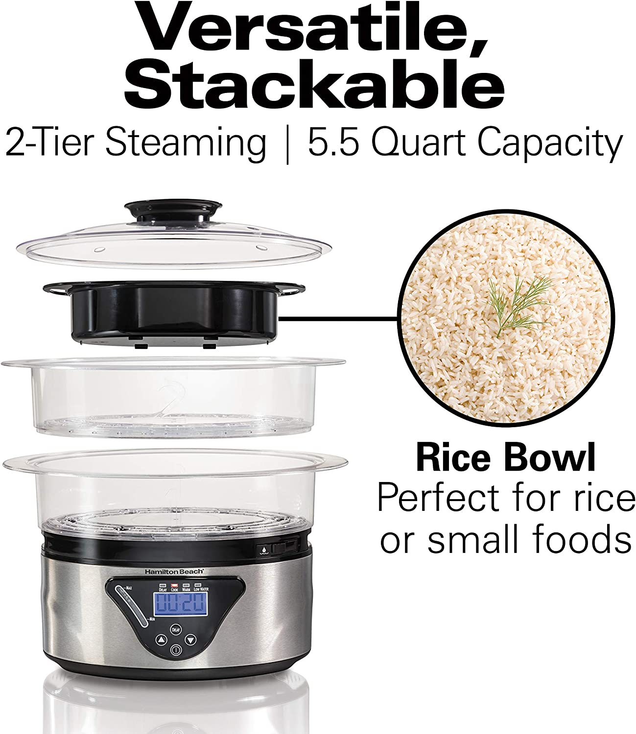 Best rated electric food steamer