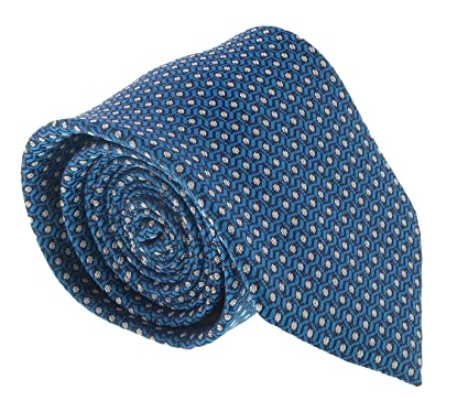 6a6fda937f3c2 Image Unavailable. Image not available for. Color: Ermenegildo Zegna  Turquoise Chain Link Tie for mens