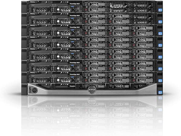 Renewed H310 384GB 4X 600GB 10K Dell PowerEdge R620 Server 2x2.20GHz 16 Cores