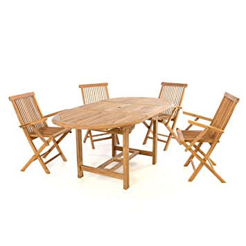Amazon De Divero Gartenmobel Set Terrassenmobel Garnitur Sitzgruppe
