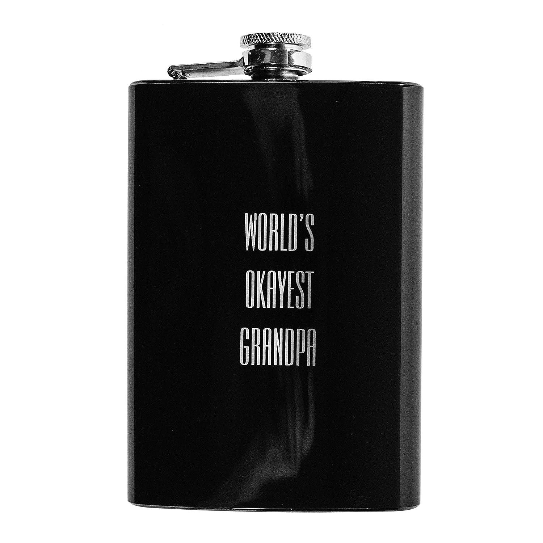 全国総量無料で 8ozブラックWorld 's 8ozブラックWorld Okayestおじいちゃんフラスコl1 B01LYKQCH2, 大阪泉州タオルのK's Towel Shop:91b5dc71 --- a0267596.xsph.ru