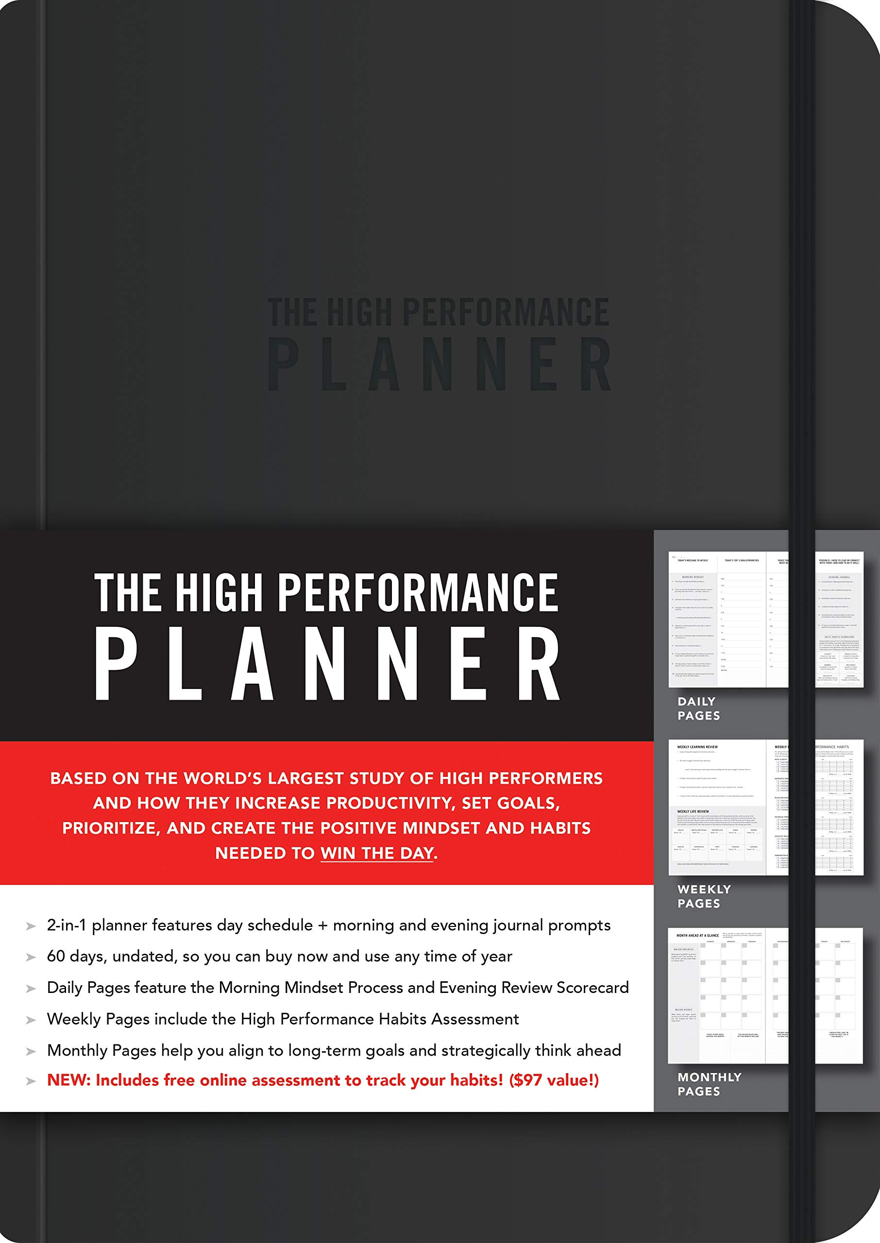 amazon the high performance planner brendon burchard general