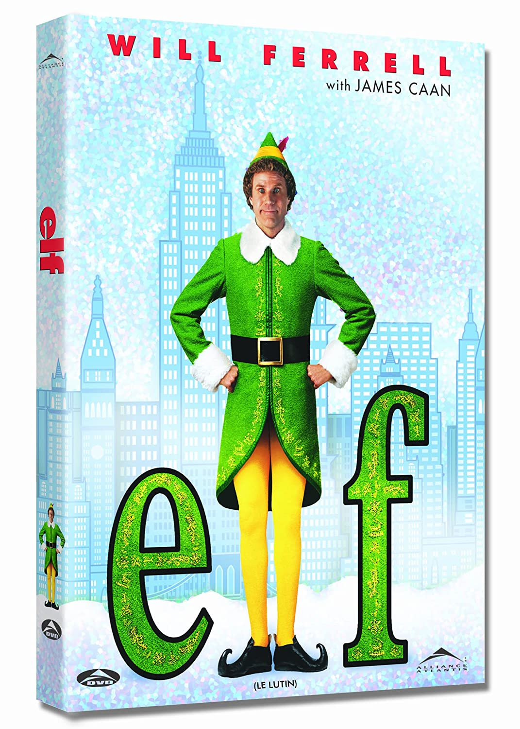 Elf (Le Lutin) (Bilingual) Will Ferrell James Caan eOne Films Distribution Comedy