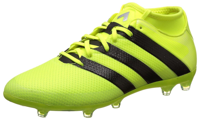 Multicoloured (Mesh Syello Cblack Silvmt) adidas Ace 16.2 Prime, Men's Calcio Allenamento