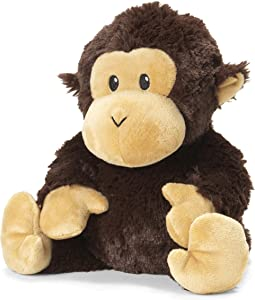 Intelex Warmies Microwavable French Lavender Scented Plush, Chimp