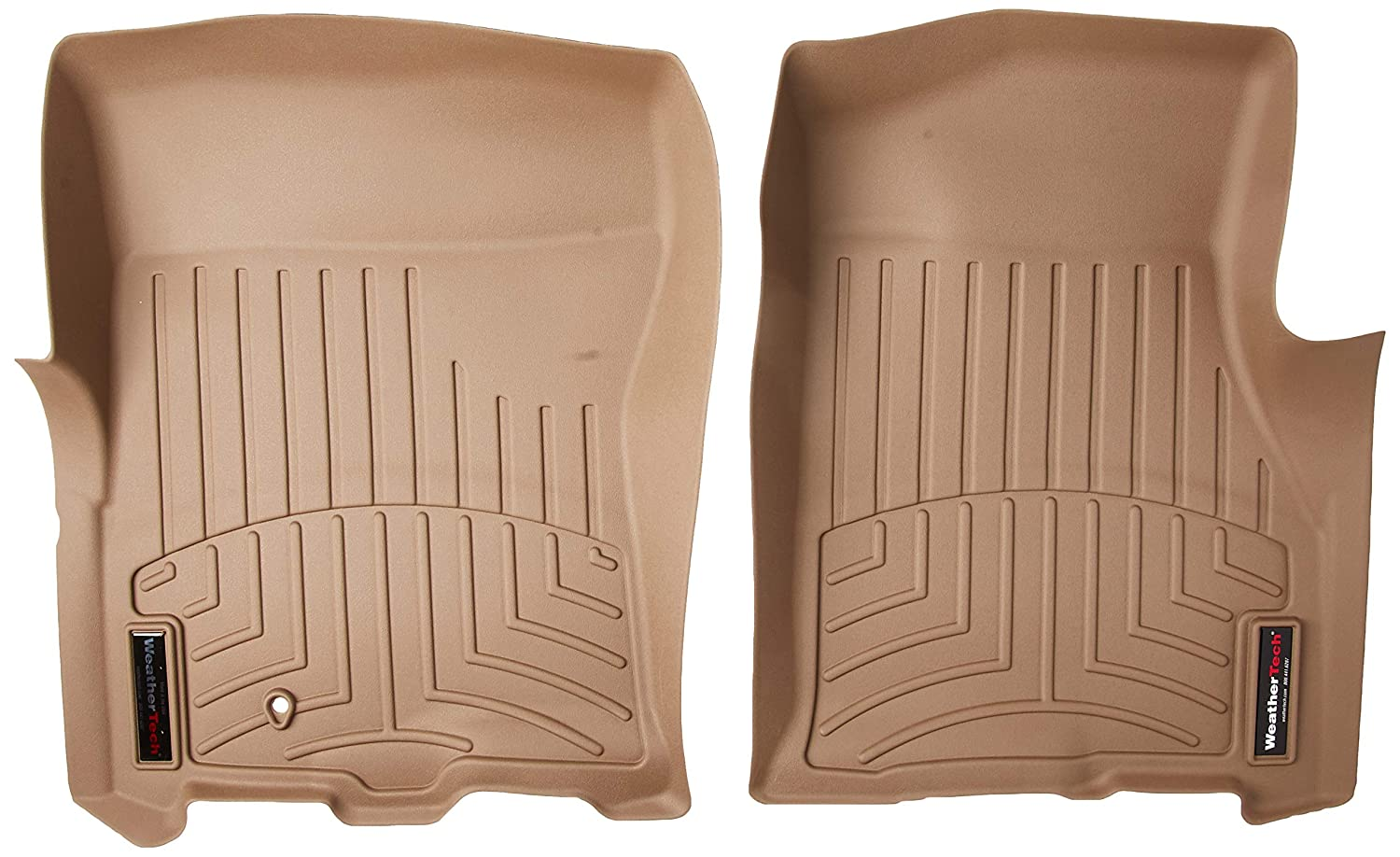 WeatherTech 451071  Custom Fit Front FloorLiner for Ford Expedition Tan