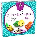 Fridge Magnet Art Activity Set: Make Your Own Self Adhesive Refrigerator & School Locker Magnets - DIY Craft Kits for…