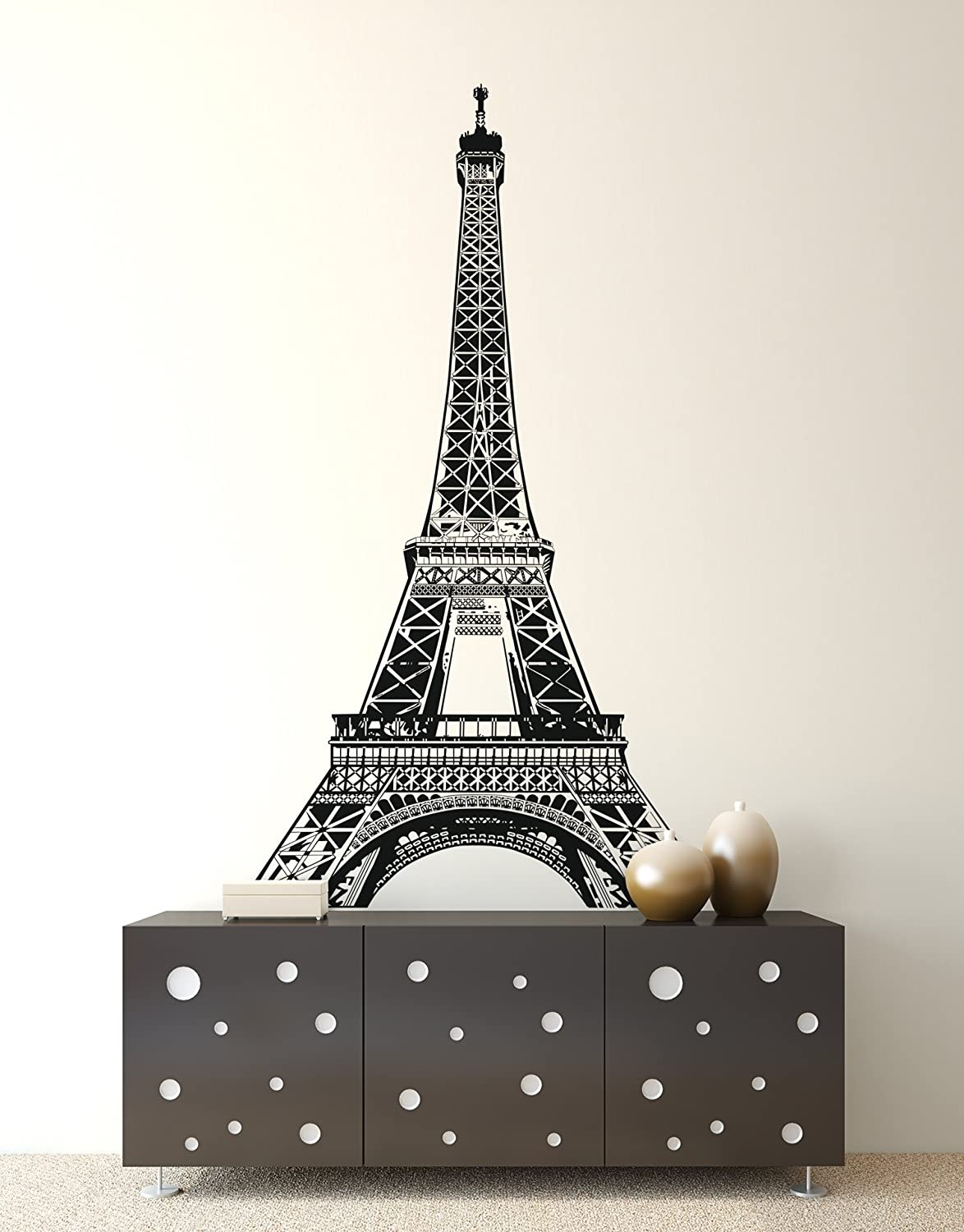 Details about  /Vinyl Wall Decal Travel World Eiffel Tower Statue Of Liberty Stickers g420