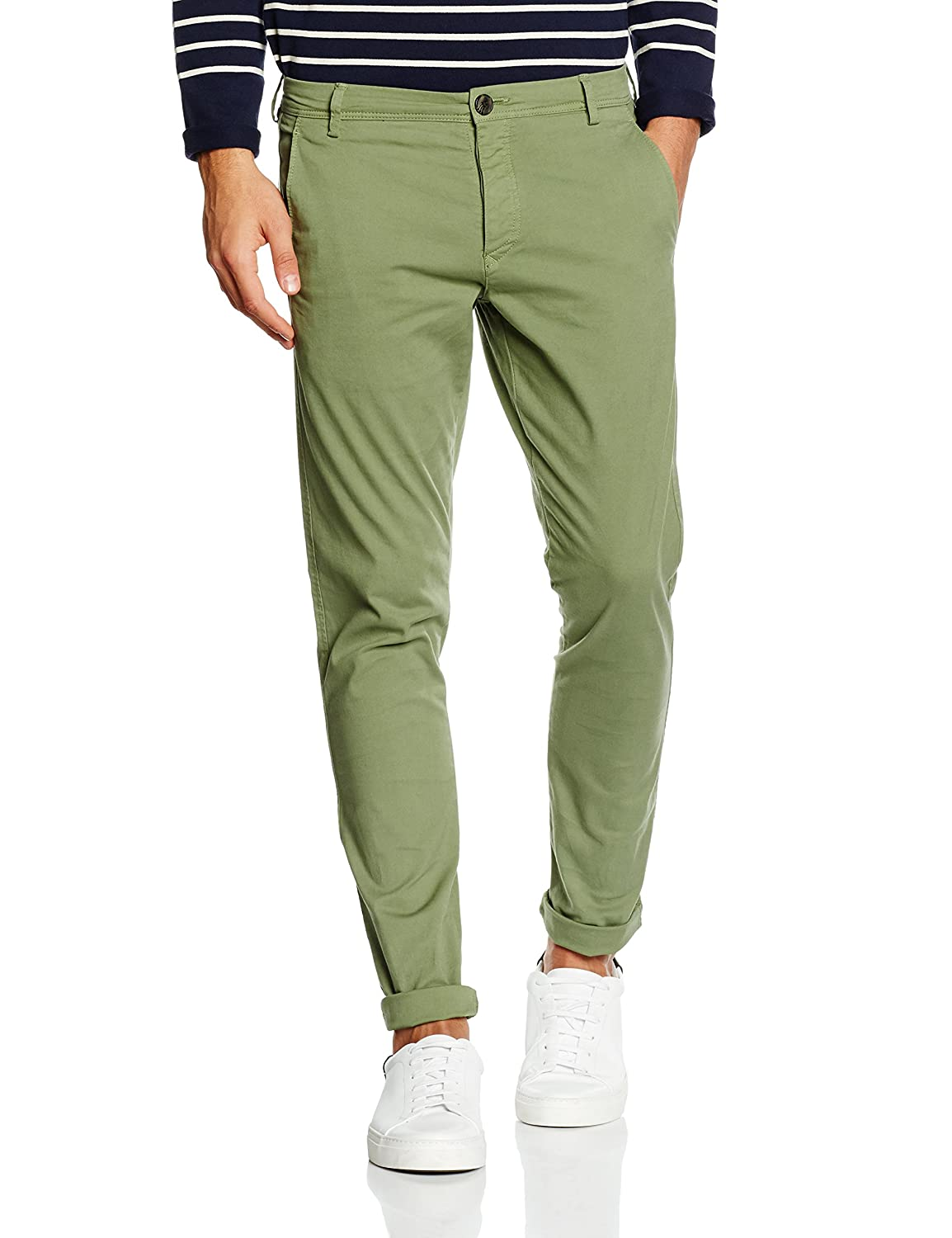 SELECTED HOMME Shhoneluca Sea Spray St Pants, Pantalones para Hombre