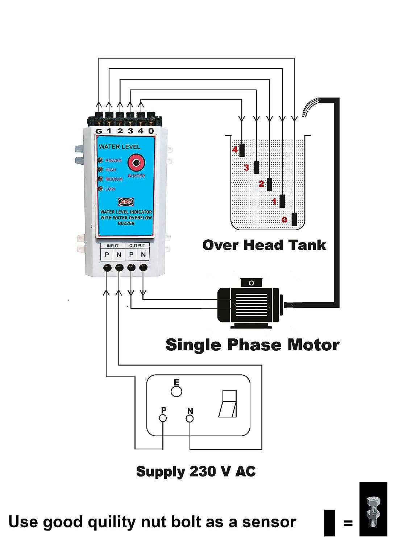 Arp water level indicator 20 meter amazon home improvement pooptronica Gallery