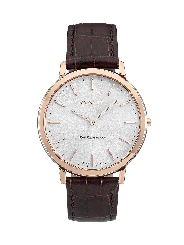 GANT TIME Herren-Armbanduhr HARRISON Analog Quarz Leder W70606