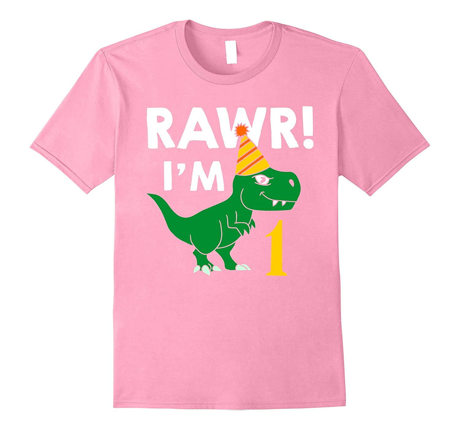 1st Birthday Boy Of Dinosaurs T Shirt 1 Year Old TH