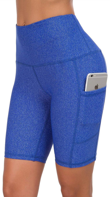 bluee Snow Dot Custer's Night High Waist Out Pocket Yoga Short Tummy Control Workout Running 4 Way Stretch Yoga Leggings
