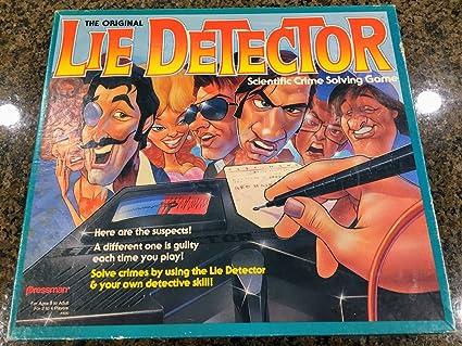 Amazoncom The Original Lie Detector Scientific Crime Solving Game