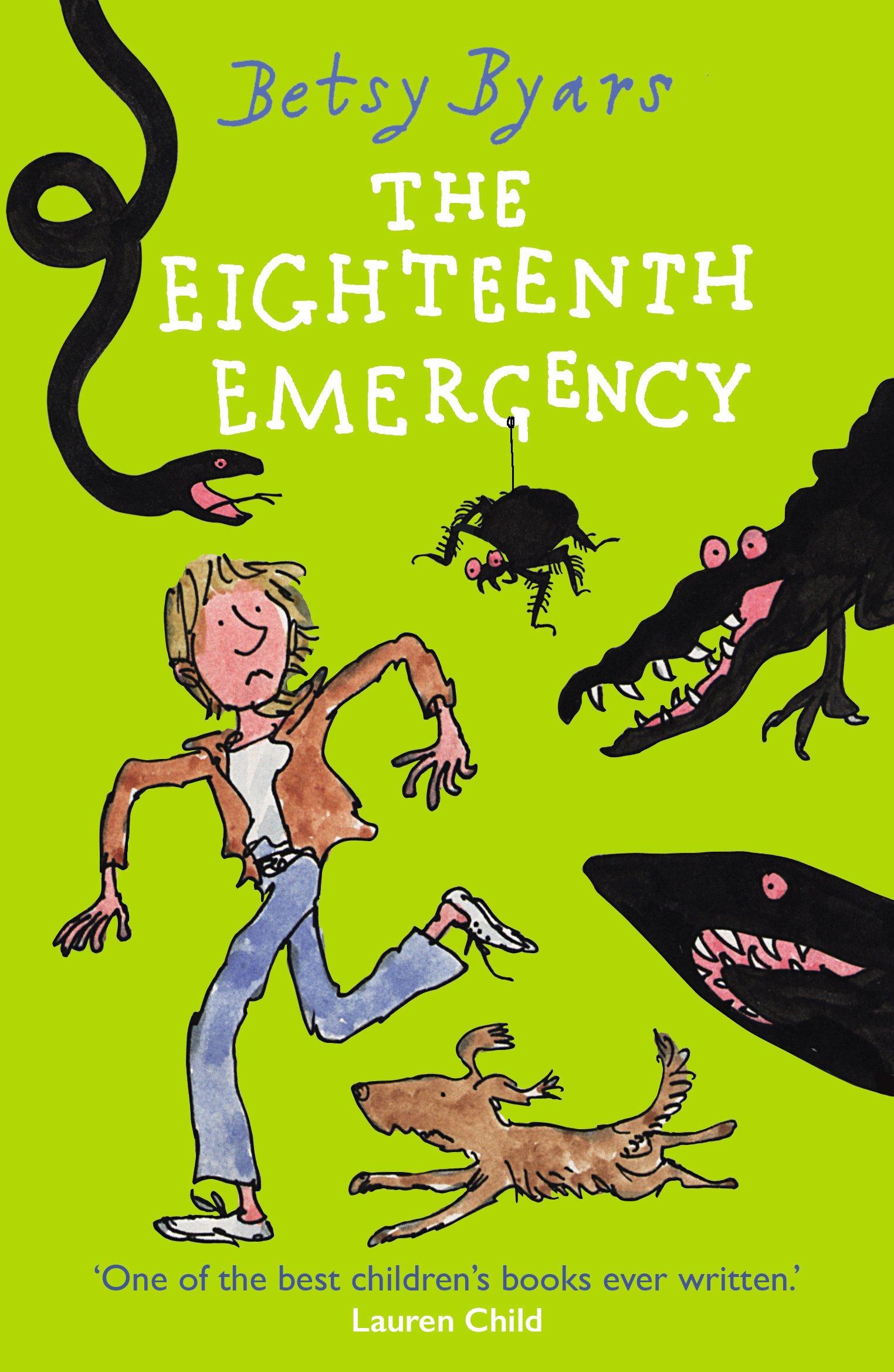 The Eighteenth Emergency: Amazon.co.uk: Byars, Betsy: 9781782955344: Books