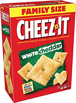 3-Pk. Cheez-It Baked Snack Crackers, White Cheddar