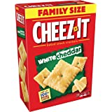 Cheez-It Baked Snack Crackers, White Cheddar, 21-Ounce Boxes (Pack of 3)