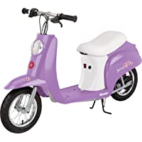 Razor Pocket Mod Miniature Euro 24V Electric Kids Ride On Retro Scooter, Speeds up to 15 MPH with 10 Mile Range