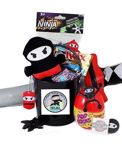 Amazon.com: I HUNT Huevos como un Ninja cesta regalo de ...